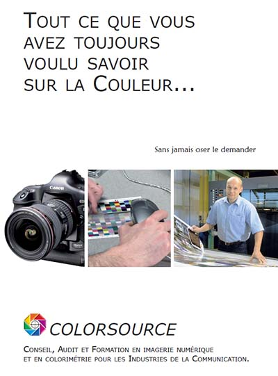 Couverture de la brochure commerciale 6 pages Colorsource